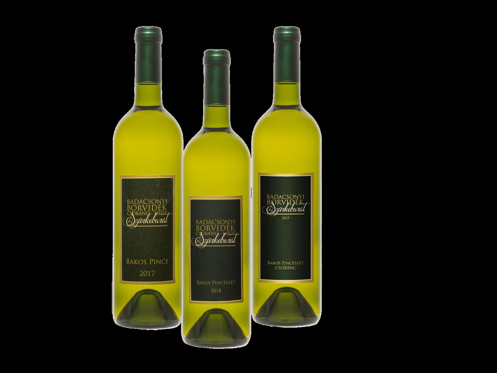 Vertikális Pinot Gris  - Vertikális Pinot Gris  - Bakos Pincészet Csobánc