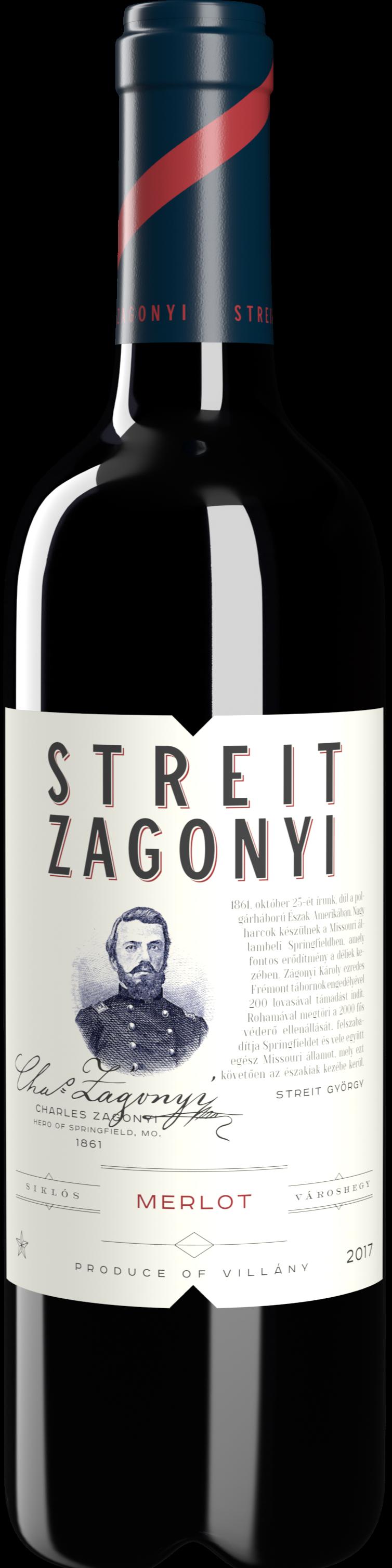 Merlot -  Streit-Zagonyi Borászat